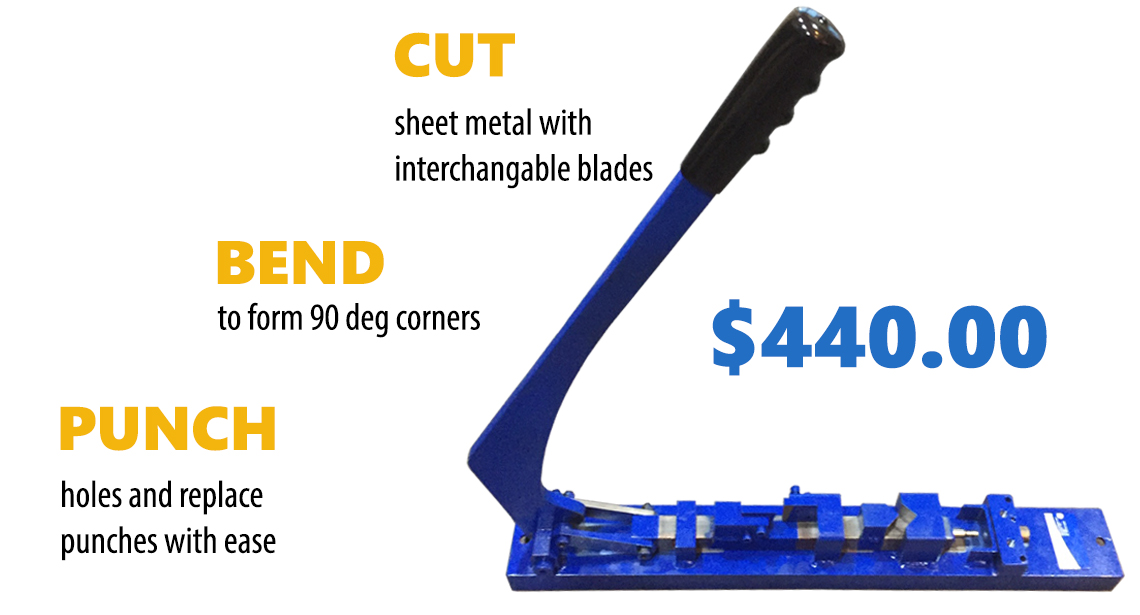 PUNCH TOOLS - Ducting Tools, Hanger King