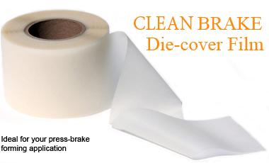Clean Brake Urethane Die Cover Film