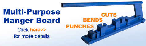 Hanger Board | Punches | Bends | Cuts |