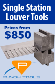 Single Station Louver Tool